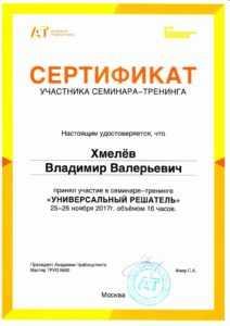 triz sertifikat mini