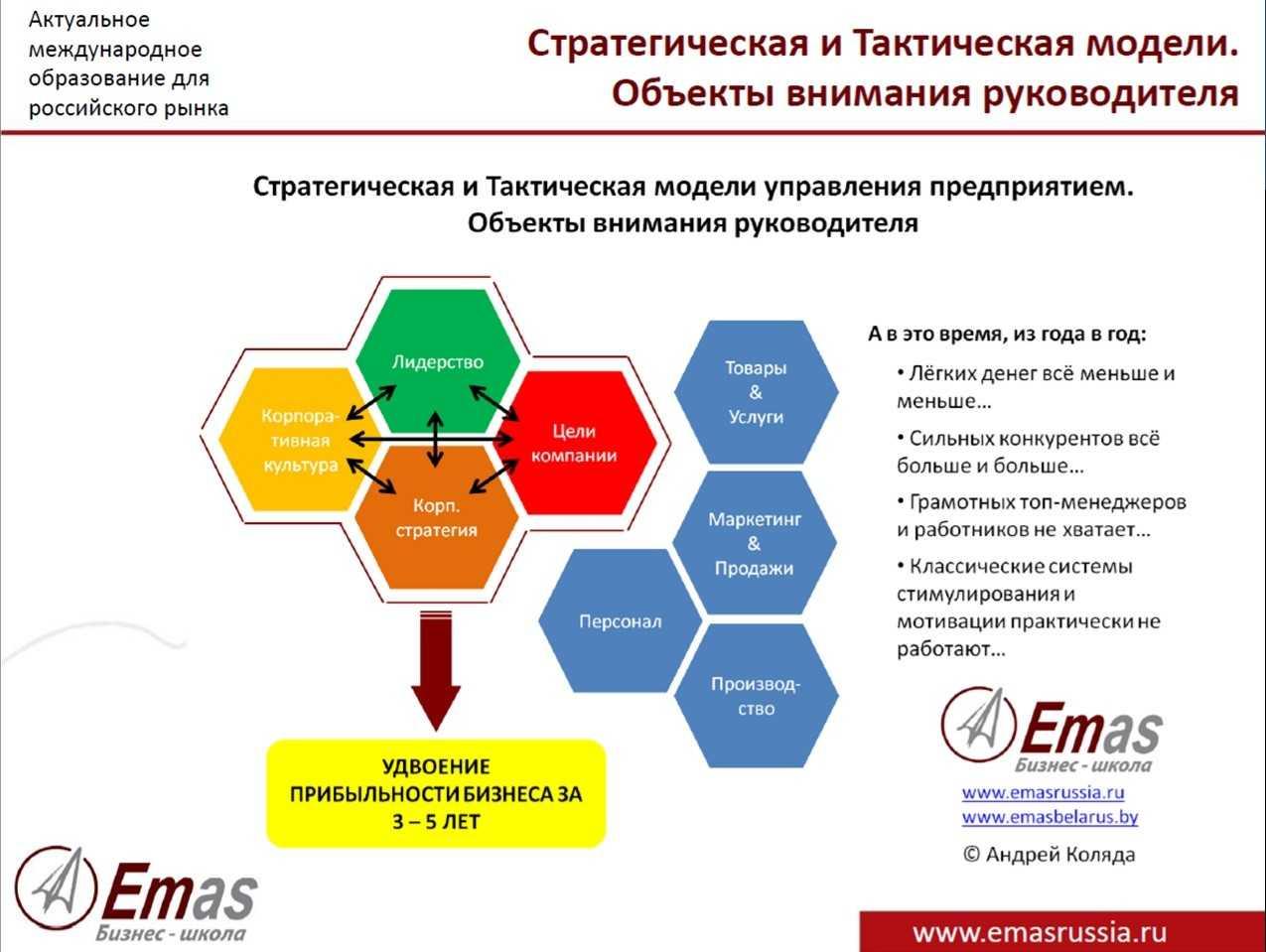 ЕМАС стратег
