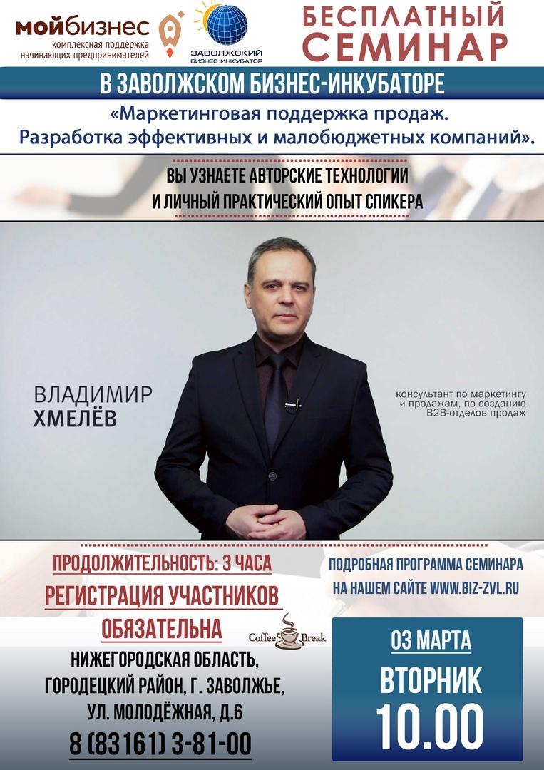 Маркетинговая подготовка к продажам. Семинар в г.Заволжье 03/03/2020. Фото и отзывы