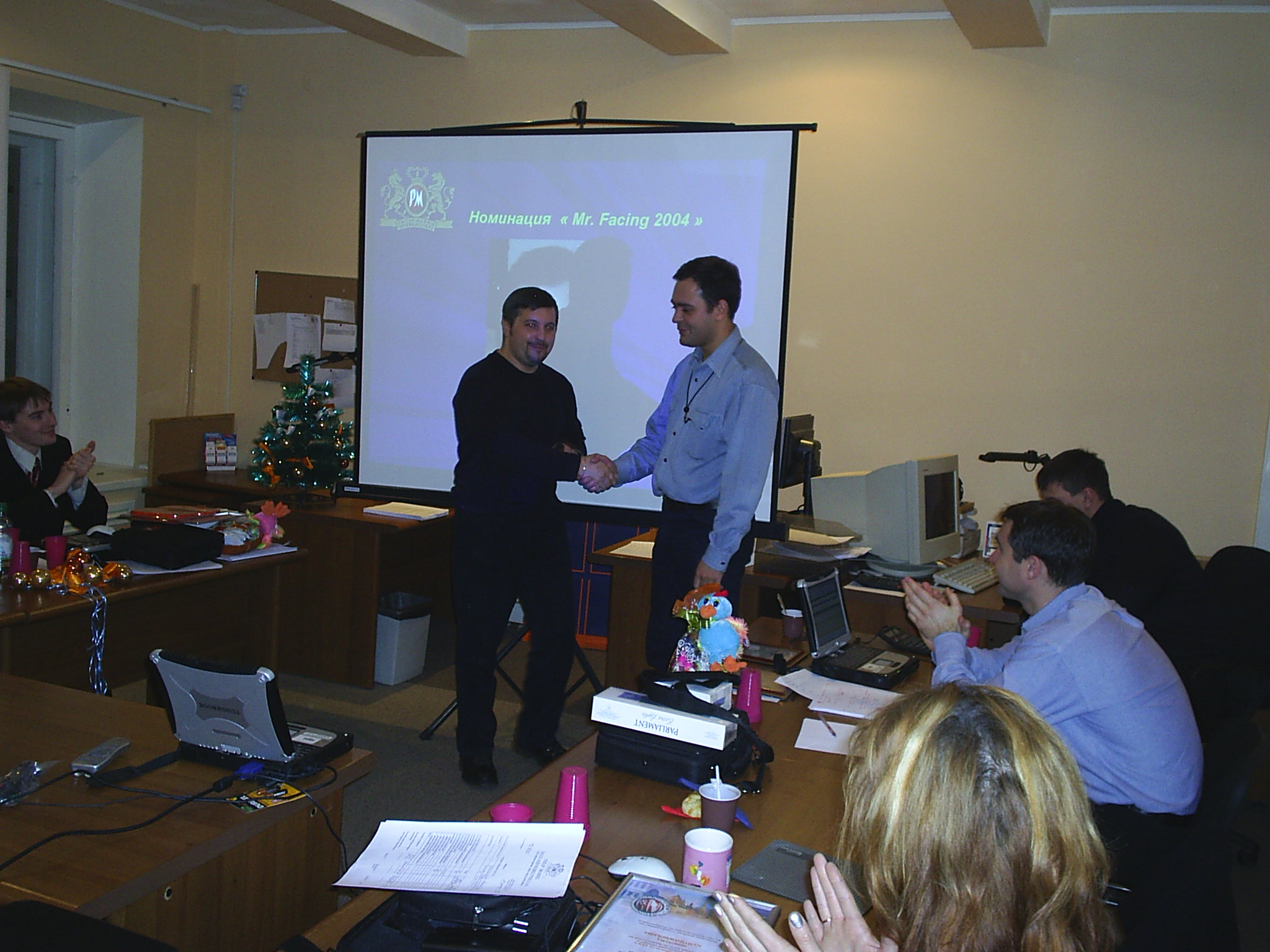 Награда за фейсинги Владимир Хмелев